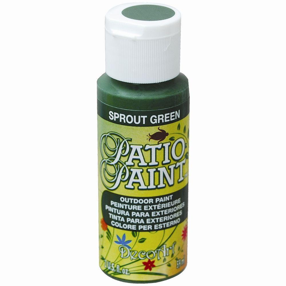 Outstanding Decoart 2 Oz Patio Sprout Green Acrylic Paint Download Free Architecture Designs Embacsunscenecom