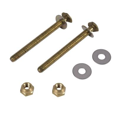 Johni-Bolts 5/16 in. x 3-1/2 in. Extra-Long Brass Toilet Bolts