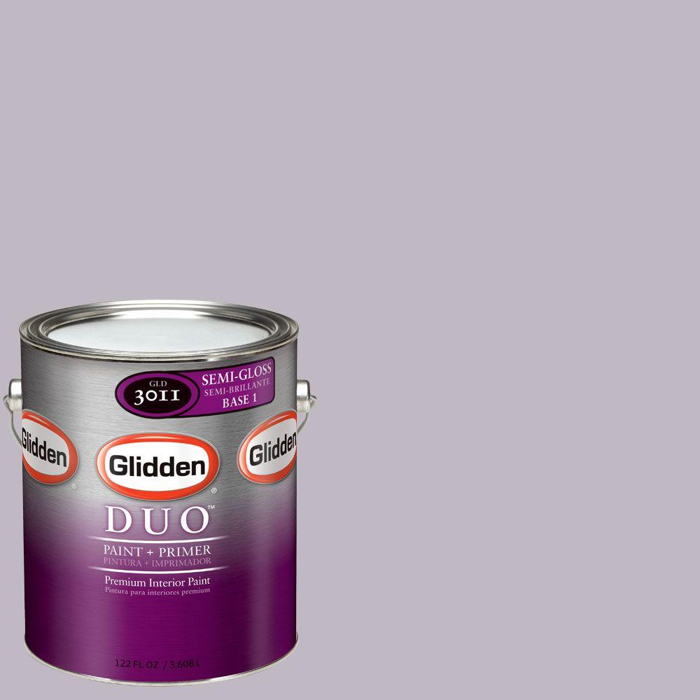Glidden DUO Martha Stewart Living 1-gal. #MSL177-01S Orchid Semi-Gloss Interior Paint with Primer-DISCONTINUED