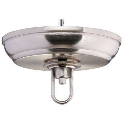 5 in. Brushed Nickel SkyBase Canopy Upgrade Kit for Chained Lighting
