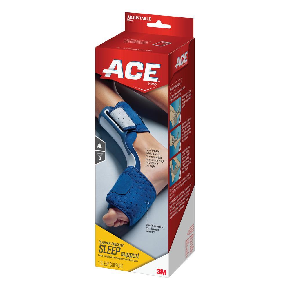 5ee3bcc584ee Ace 1-Size Adjustable Plantar Fasciitis Sleep Support Brace in Black ...