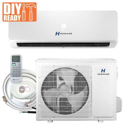 24,000 BTU 2.0 Ton 208/230V Ductless Mini Split Air Conditioner with Inverter, Heat Pump, and 15 ft. Copper Line Set