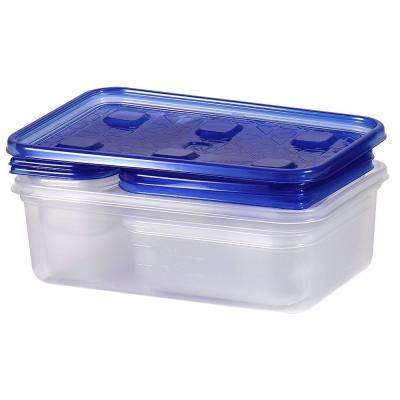 5.25-Qt. Variety Pack Square Storage Container (7-Pack)