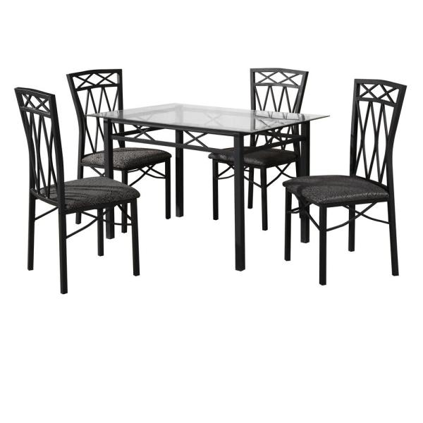 Essential Home Cayman 5pc High Top Dining Set