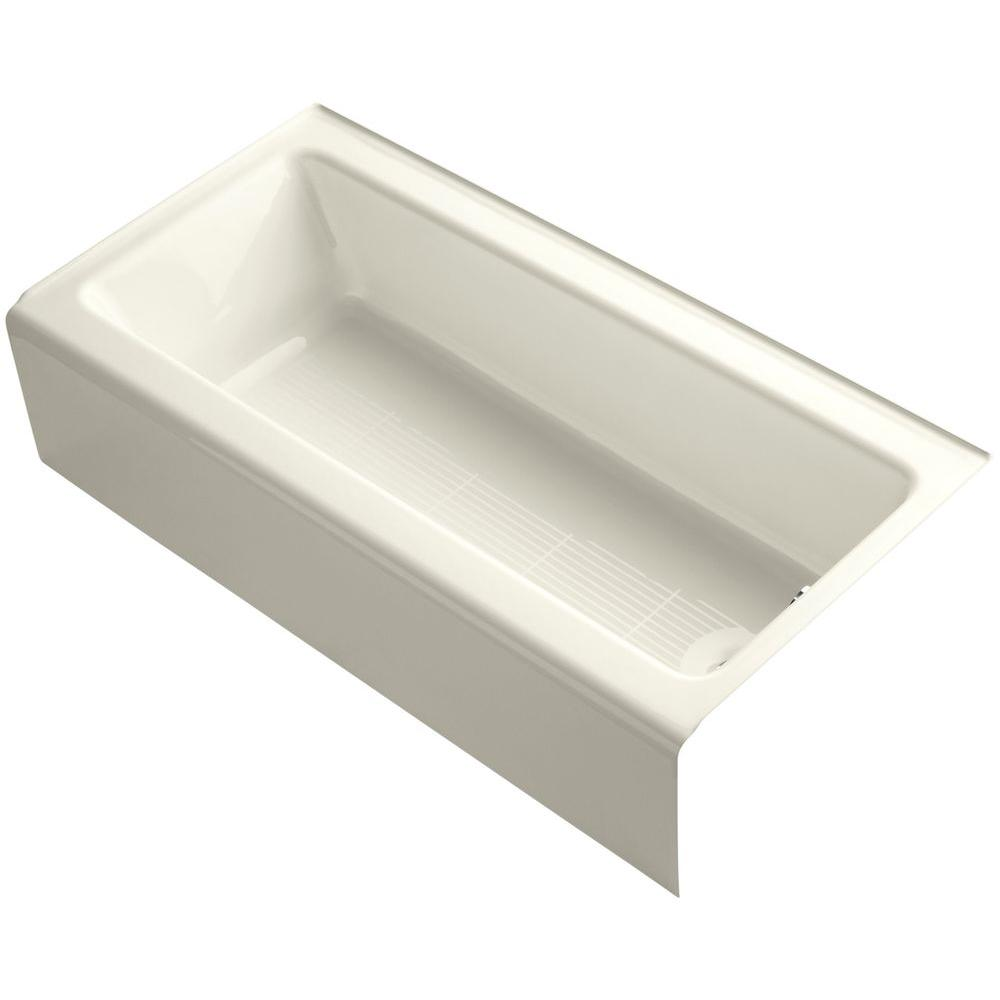 Porcelain-Enameled Cast Iron - Bathtubs - Bath - The Home Depot