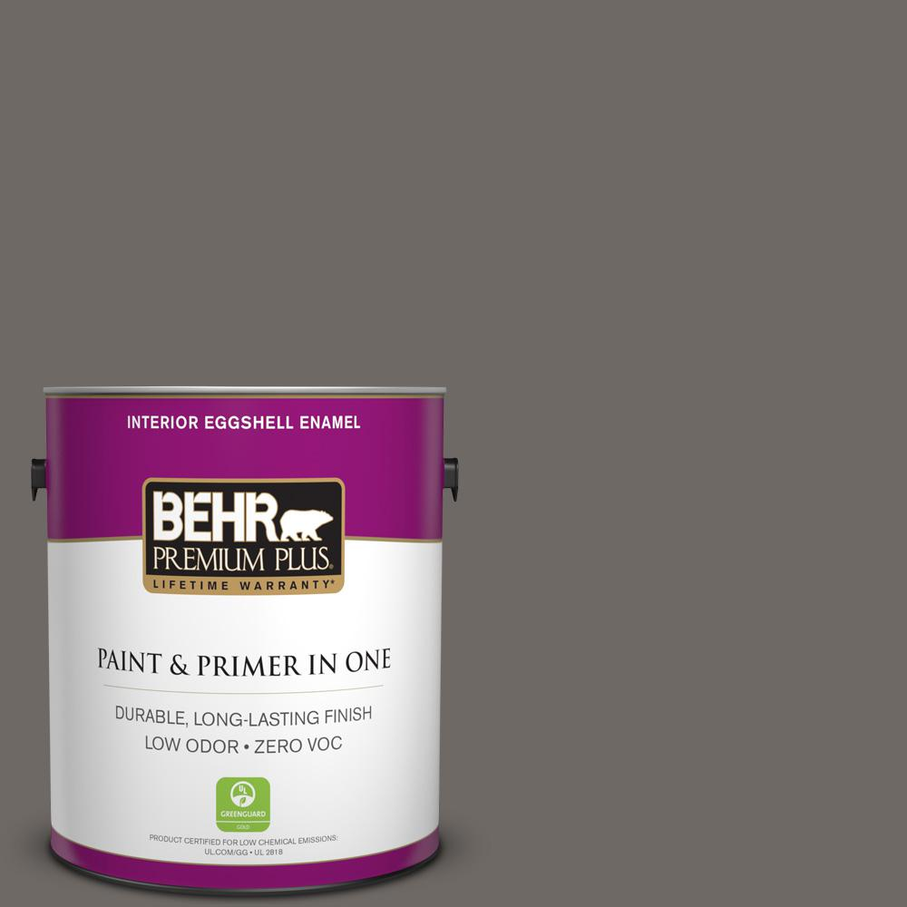 1 gal. #PPU24-04 Burnished Pewter Zero VOC Eggshell Enamel Interior Paint