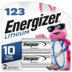 123 Lithium Batteries (2 Pack), 3V Photo Batteries