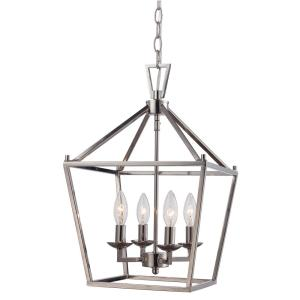 home and decor bel air lighting 4lt polished chrome pendant bird cage 10264