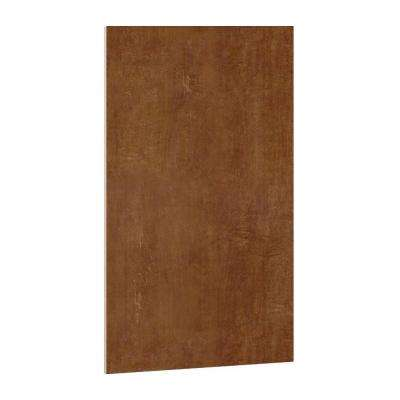 19-3/4x33-1/2x1/4 in. Flush-Fit End Panel in Almond