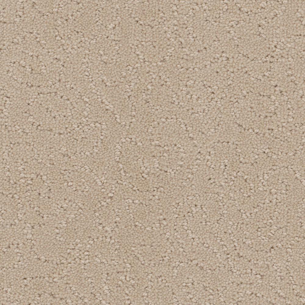 Adalida - Color Vanilla Level Cut Loop 12 ft. Carpet