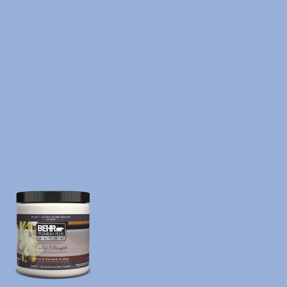 BEHR Premium Plus Ultra 8 oz. #590B-4 Anemone Interior/Exterior Paint Sample