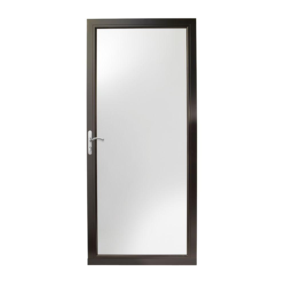 Andersen 36 in x 80 in 3000 series black left hand for Andersen doors