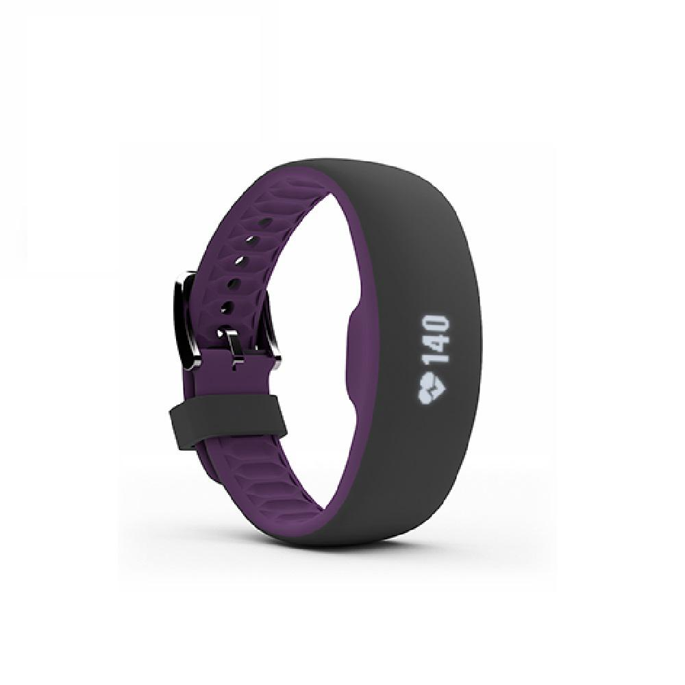 iFit Plum Large with Extra Large Fitness Tracker Dare to challenge your fitness with the Axis HR. All day long, and even during your most energetic workouts, ActivePulse ensures that you get heart rate tracking with three optical sensors. Plus, with MoveReady auto-activity detection and a water-resistant design, it's the perfect companion for your next adventure.