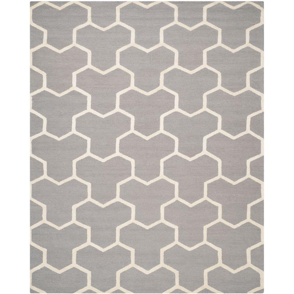 Safavieh Cambridge Silver/Ivory 5 ft. x 8 ft. Area Rug