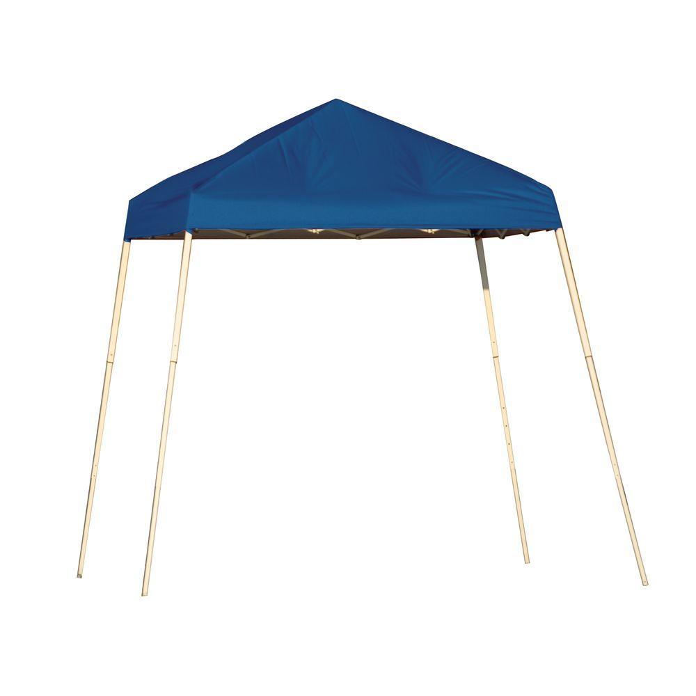 Shelterlogic Sports Series 8 Ft X 8 Ft Blue Slant Leg Pop Up