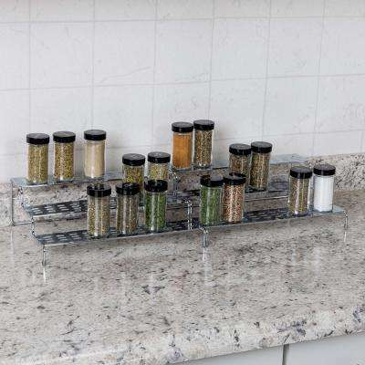 3-Tier Expandable Kitchen Spice Rack