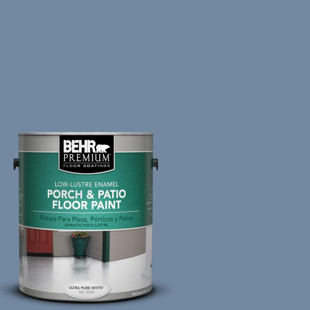1 gal. #PPU15-9 Hilo Bay Low-Lustre Porch and Patio Floor Paint