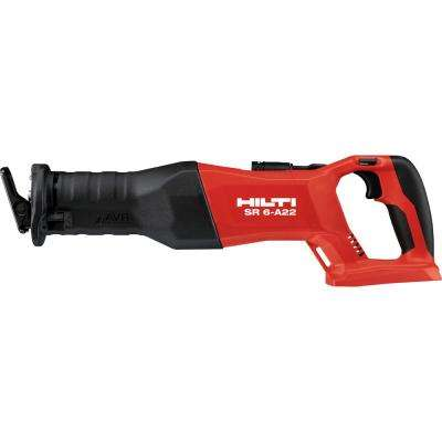 SR 6-A 22-Volt Lithium-Ion Cordless Reciprocating Saw (Tool-Only) with Brushless Motor