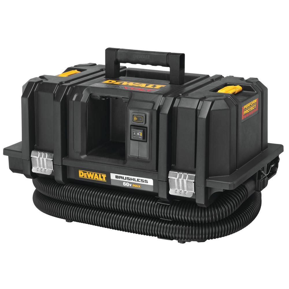 Dewalt Dust Extractor >> Dewalt Flexvolt 60 Volt Max Cordless Dust Extractor Kit Tool Only