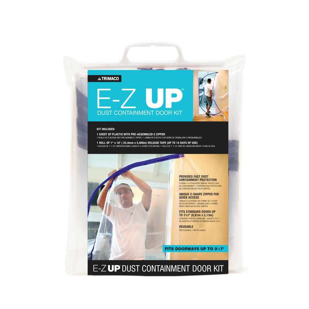 E Z UP Dust Containment Door