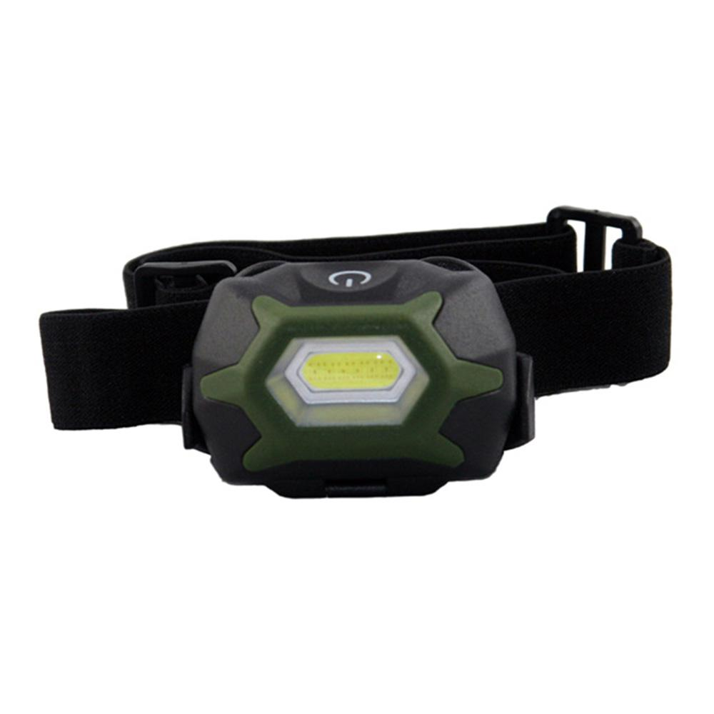3 AAA Adjustable Lightweight Two Function COB Headlight Flashlight