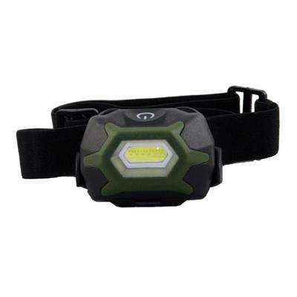 3 AAA Adjustable Lightweight Two Function COB Headlight Flashlight