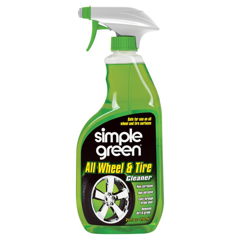 Brake Dust Cleaner >> Simple Green 24 Oz All Wheel And Tire Cleaner 0210001201024 The