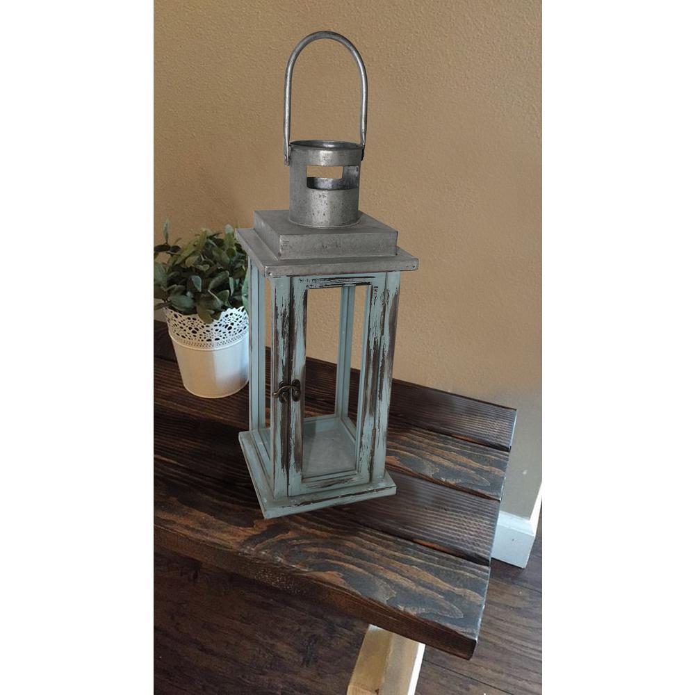 16.75 in. Antique Carson Lantern