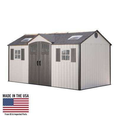 15 ft. x 8 ft. Garden Building Shed