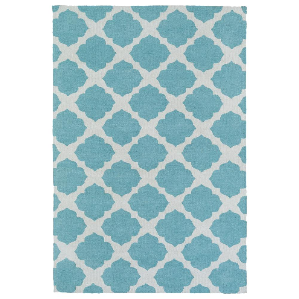 Kaleen Helena Turquoise Area Rug Reviews: Kaleen Lily And Liam Turquoise 8 Ft. X 10 Ft. Area Rug