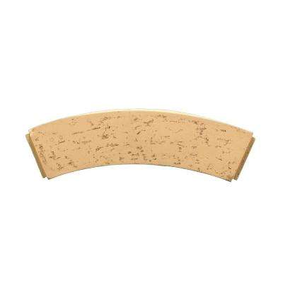 23-1/16 in. Inside Width x 9-3/16 in. Height x 3-7/8 in. Polyurethane Stone Texture Arched Trim Block
