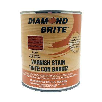 1 qt. Dark Walnut Oil-Based Interior Varnish Stain