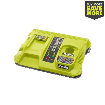 ONE+ Lithium-Ion Dual Platform Charger for RYOBI 18-Volt ONE+ and 40-Volt Batteries