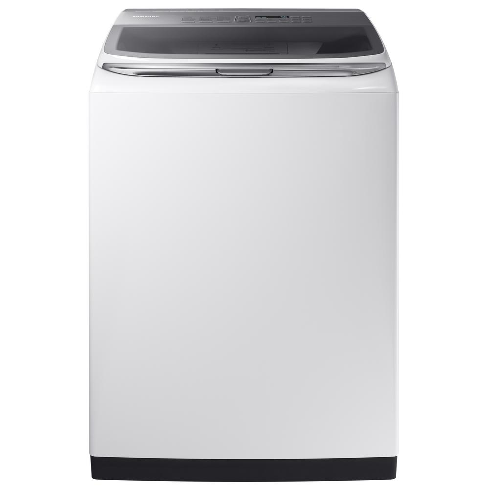 5.2 cu. ft. High-Efficiency Top Load Washer with Activewash in White,