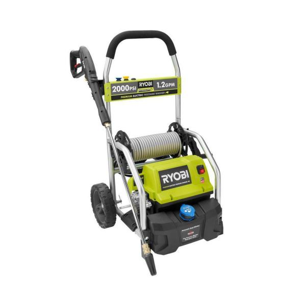 2,000 PSI 1.2 GPM Electric Pressure Washer