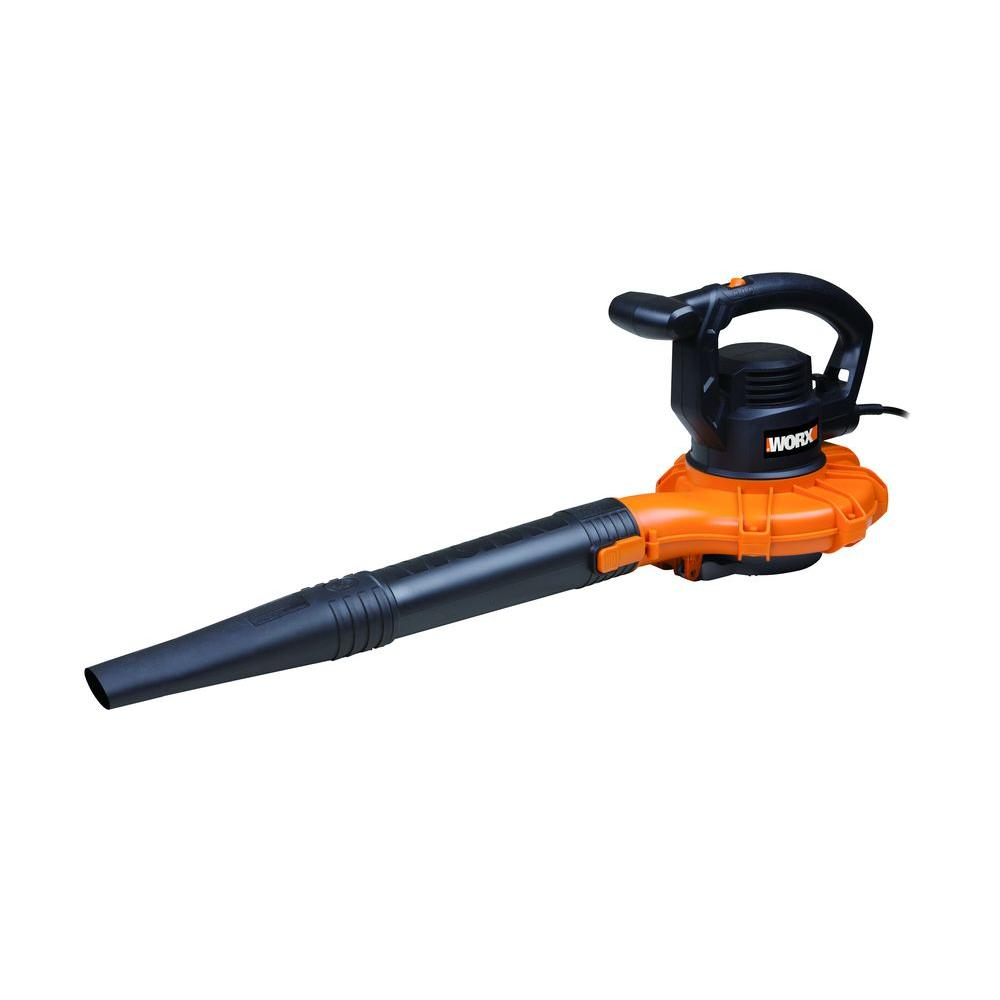 Electric Blowers Product : Worx mph cfm amp electric corded handheld