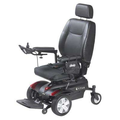 Titan Front-Wheel Power-Wheelchair with Pan Seat 20 in. x 18 in.