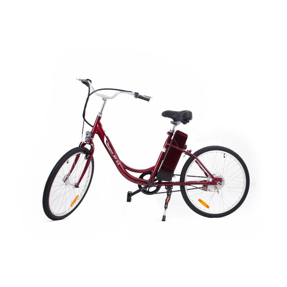 Urban Street Electric Step Thru Version 24 inch Age 16 Unisex Bike by