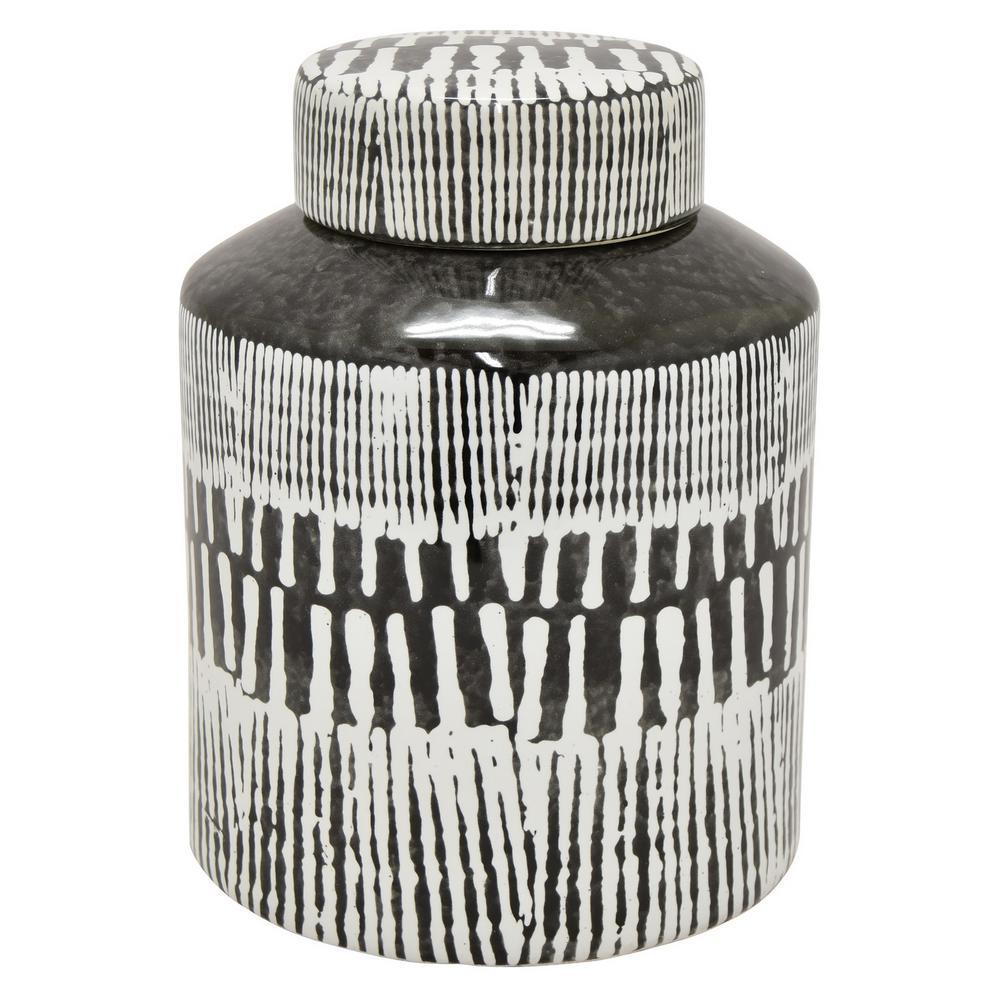 9 in. Ceramic Jar