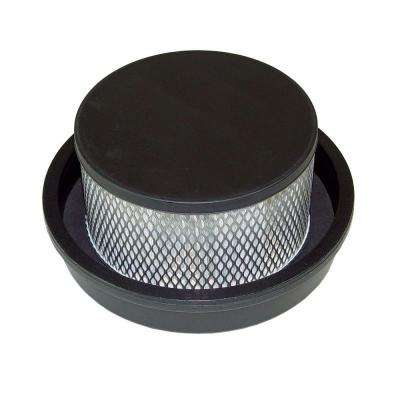 HEPA Filter Assembly and Bottom Cap for ProTeam LineVacer HEPA Vac