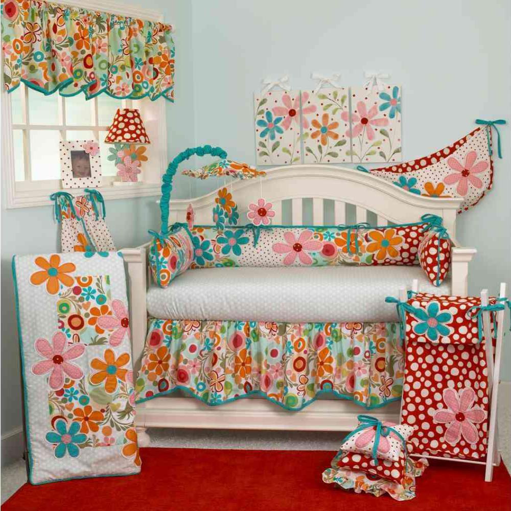 Lizzie 4-Piece Crib Bedding Set