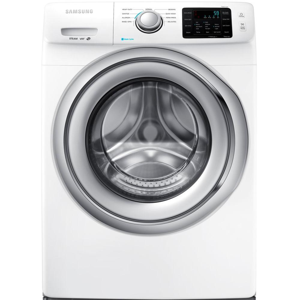 Samsung 4.2 cu. ft. Front Load Washer with Steam in White, ENERGY STAR