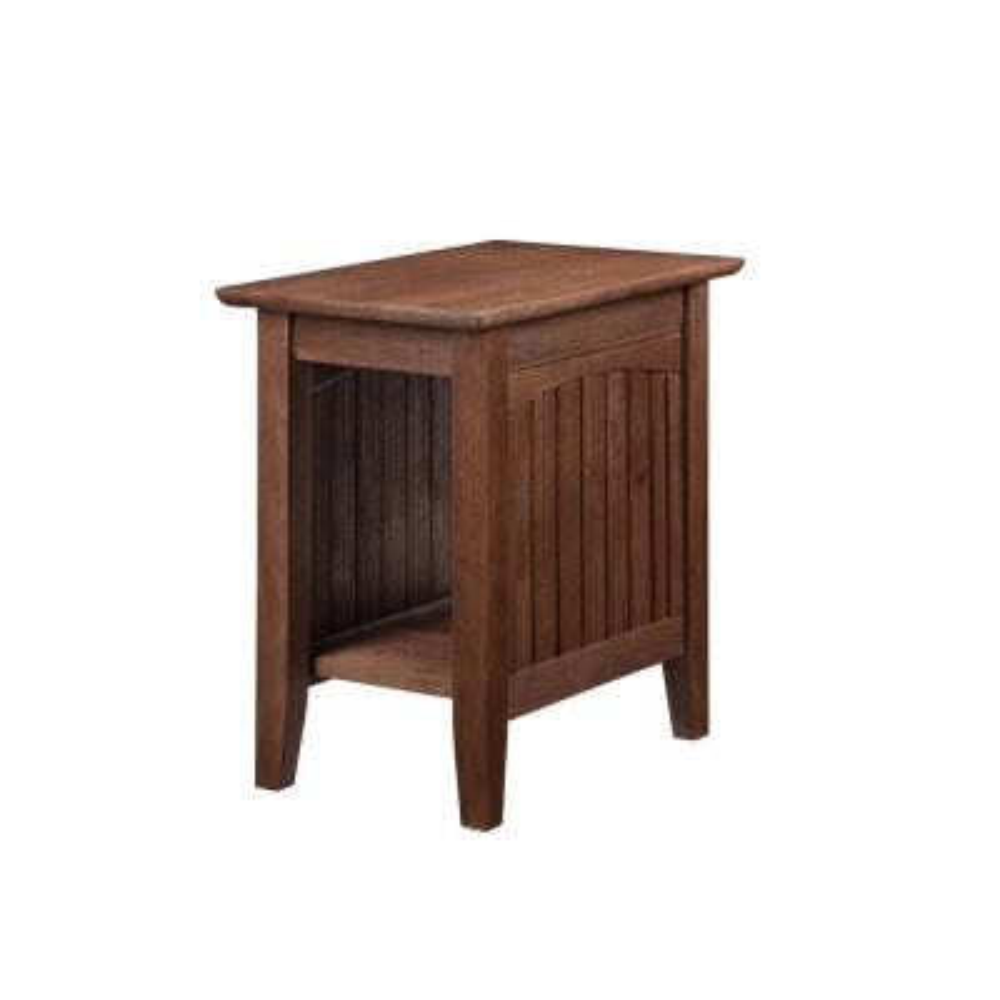 Nantucket Burnt Amber Chair Side Table