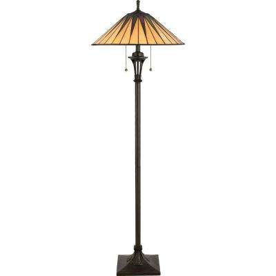 Bon Gotham 62 In. Vintage Bronze Floor Lamp · Home Decorators Collection ...