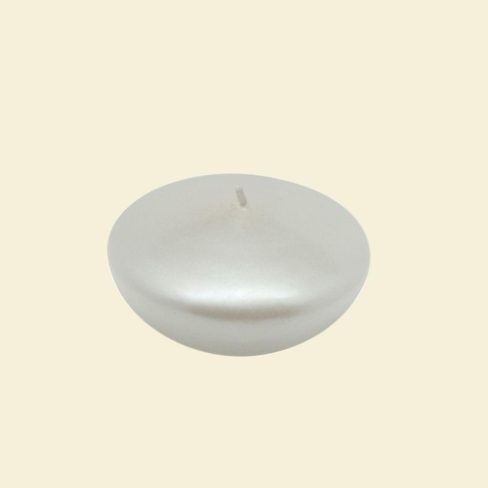 3 in. Pearl White Floating Candles (Box of 12)