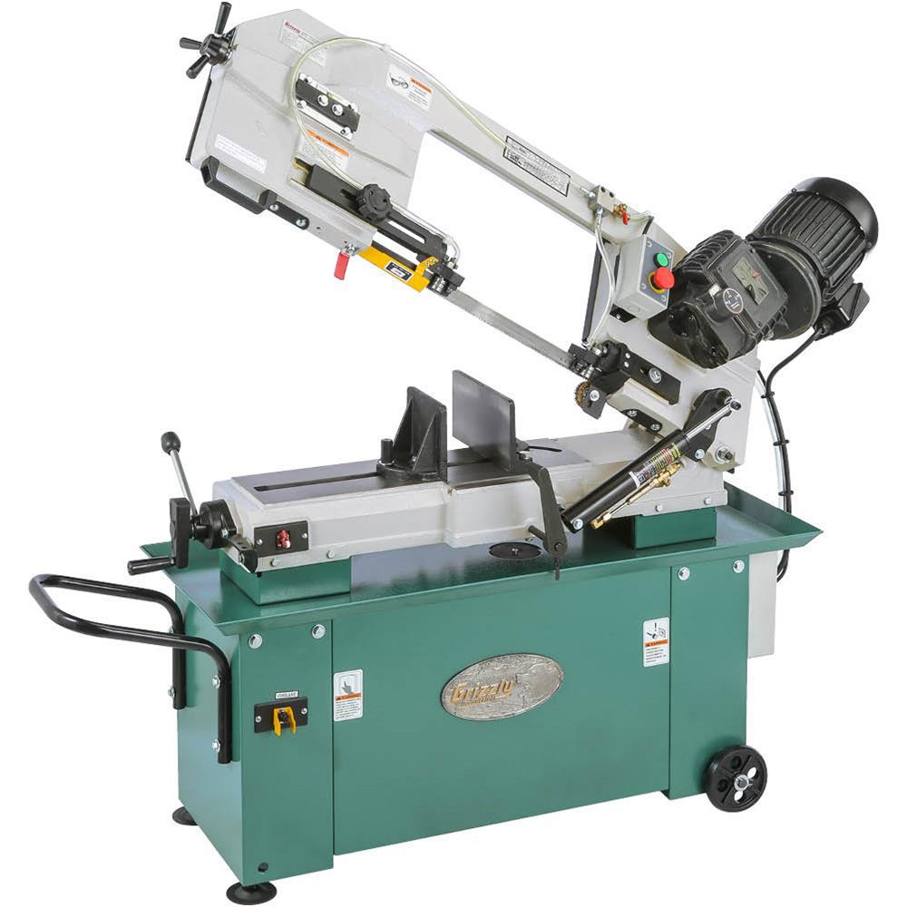 Grizzly Industrial 7 in. x 12 in. Geared Head Metal-Cutting Bandsaw