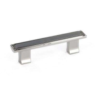 Traditional 3 in. (76.2 mm) Polished Nickel Cabinet Pull