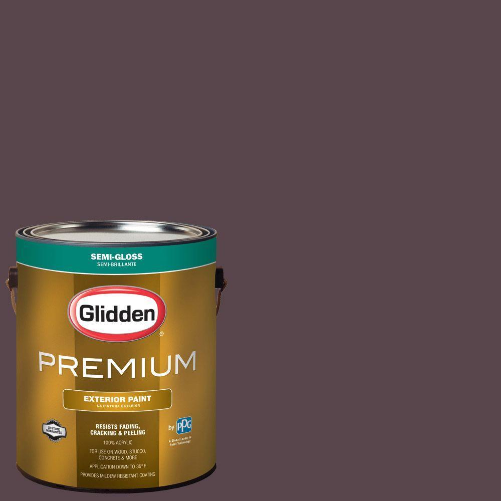 Hdgr1 Black Currant Semi Gloss Latex Exterior Paint