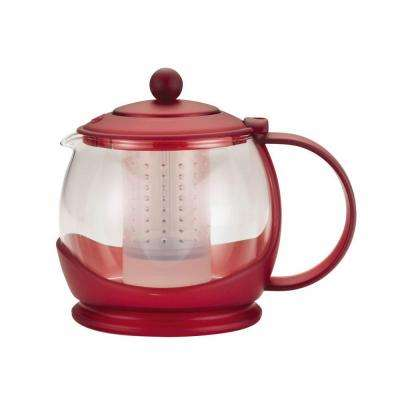 Teapots Prosperity 5.25-Cup Teapot in Rosehip Red