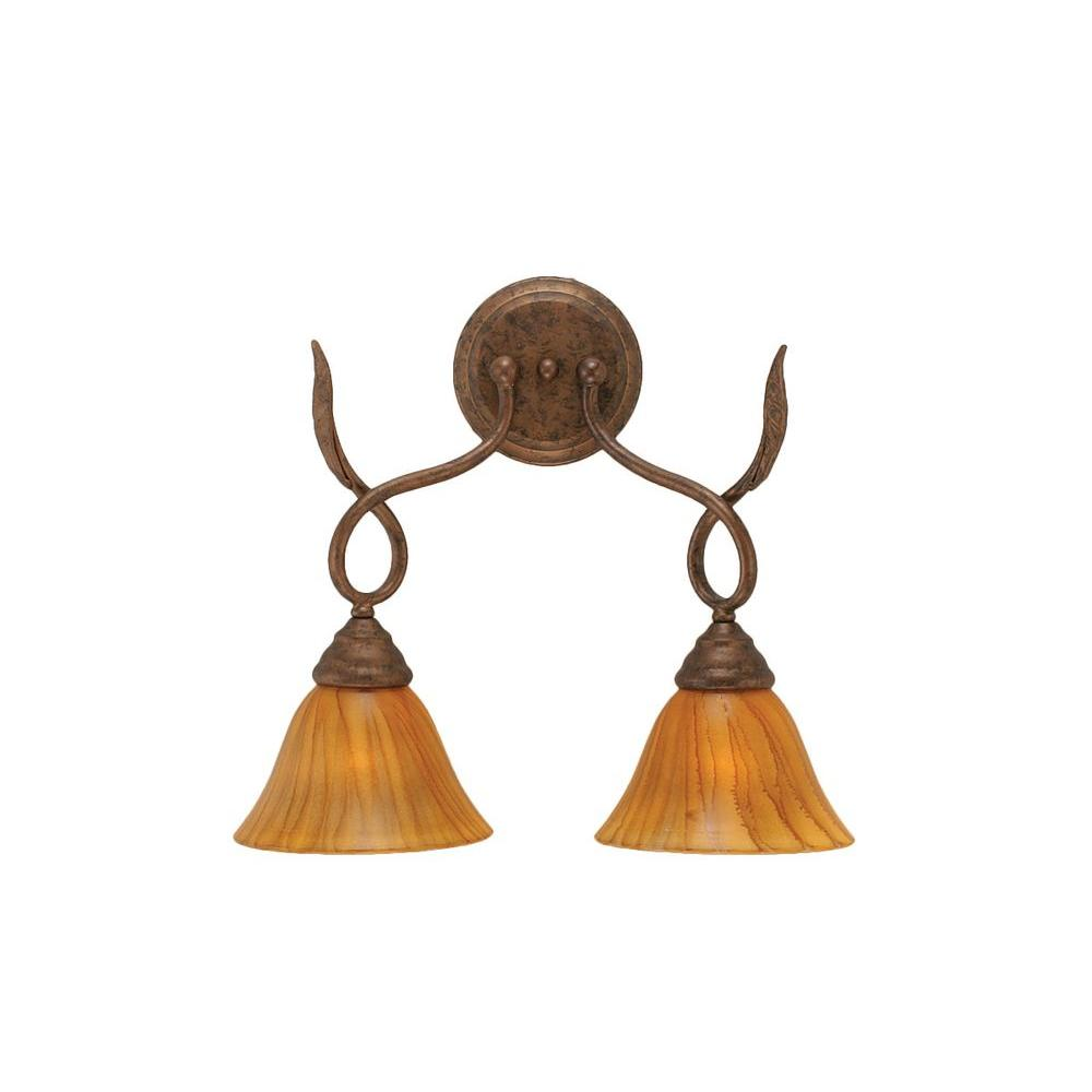 Filament Design Concord 2-Light Bronze Sconce